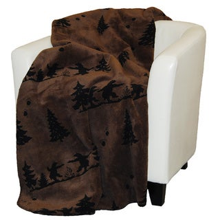 Denali Bear Boogie Throw Blanket