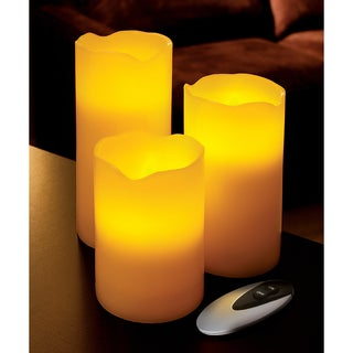 Order Home Collection 3-piece Flameless Candle Set