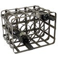 Casa Cortes Industrial 12-Bottle TableTop Metal Wine Rack