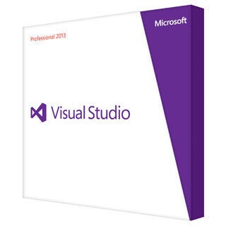 Microsoft Visual Studio 2013 Professional With MSDN - Complete Produc