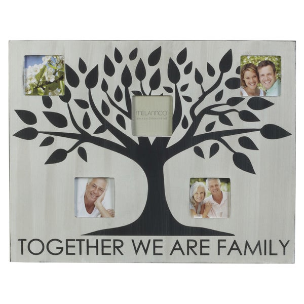 Melannco 18 x 14-inch Tree and Sentiment Collage