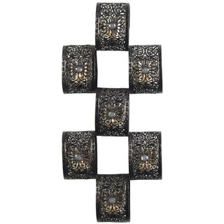 Elements 23-inch 7-lite MTL Bronze Scroll Sconce