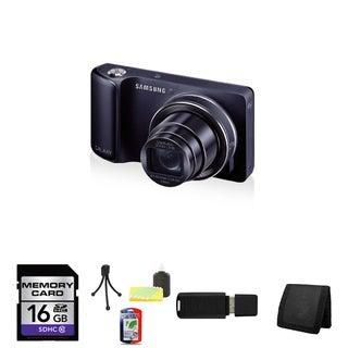 Samsung GC100 Galaxy 16.1MP Black Digital Camera (AT&T) 16GB Bundle