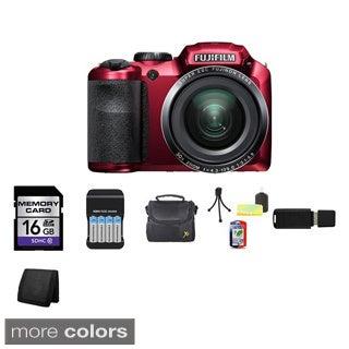 FujiFilm FinePix S4800 16MP Digital Camera 16GB Bundle