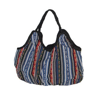 Handcrafted Heavy Cotton Tote Bag (Nepal)