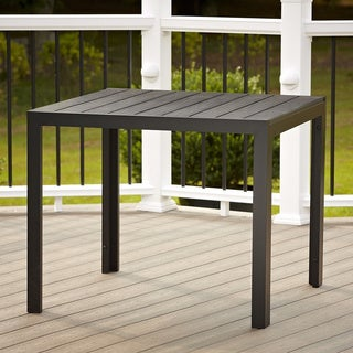 Cosco Outdoor Resin Slat Dining Table