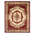Traditional Ancient Empire Claret Area Rug (7'10 x 9'10)