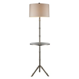 Dimond Lighting 1-Light Silver Plated Modern Floor Lamp
