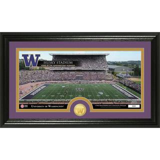 University of Washington 'Stadium' Bronze Coin Panoramic Photo Mint