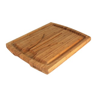 Totally Bamboo Large Carving Board with Well