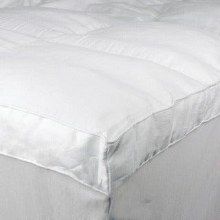 Serta Perfect Sleeper 100-percent Cotton Baffle Box Mattress Topper