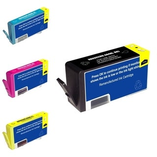 INSTEN HP 564XL Black/ Cyan/ Magenta/ Yellow 4-Ink Cartridge Set (Remanufactured)