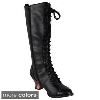 Hades Women's 'Dome' Retro Knee High Boots