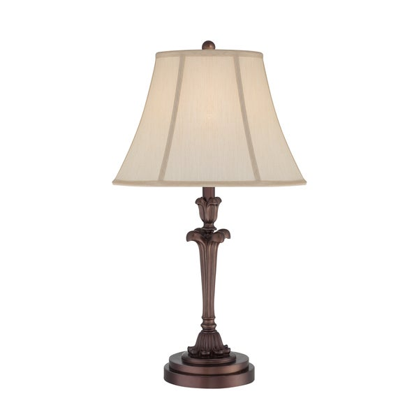 Archer 1-light Palladian Bronze Table Lamp