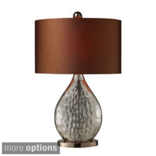Sovereign 1-light Antique Mercury/ Coffee Table Lamp