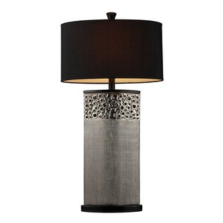 Bellevue 1-light Silver Plated Contemporary Table Lamp