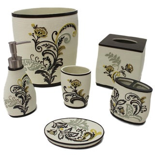 Sherry Kline Findlay Bath Accessory 6-piece Set