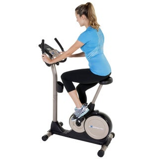Exerpuetic 3000 Mobile App Tracking Magnetic Upright Bike