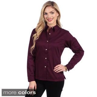 Hartwell Women's Twill Button-up Shirt