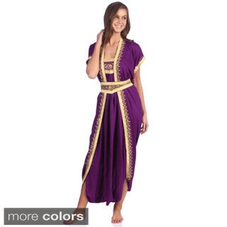 Hand-embroidered Moroccan Jumpsuit (Morocco)