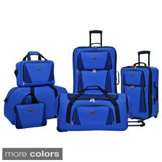 U.S. Traveler Palencia 5-piece Luggage Set