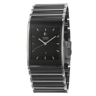 Rado Men's 'Integral Automatic' Stainless Steel Automatic Watch