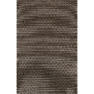 Hand Woven Rhythm Earth Wool Rug (7'6 x 9'6)