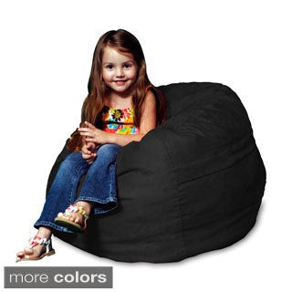 Memory Foam Micro Suede Kids Beanbag Chair for