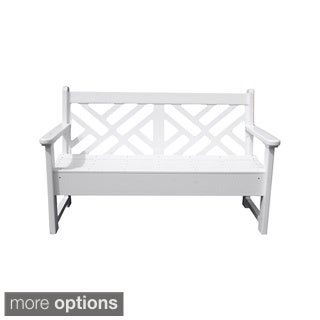 Eagle One Commercial-grade Greenwood Chippendale 5-foot Bench