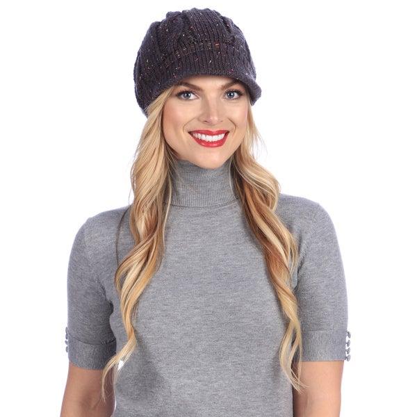 Women's Retro Knit Winter Hat