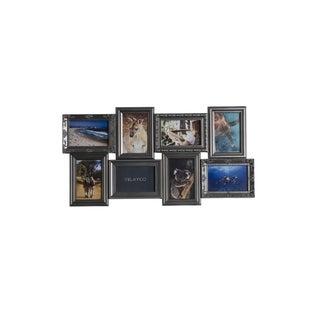 Melannco 8-opening Multi Profile Pewter Collage