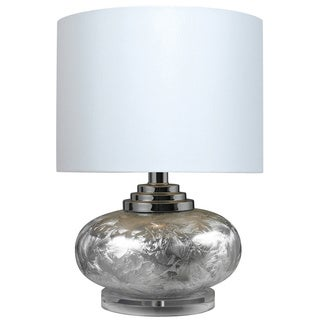Ceramic with Acrylic Base 1-light Frosted Table Lamp