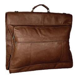 David King Leather 203 42in Garment Bag Cafe