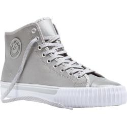 PF Flyers Center Hi Silver Leather