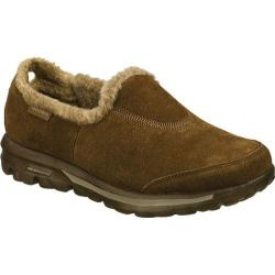 Women's Skechers GOwalk Fuzzy Chocolate