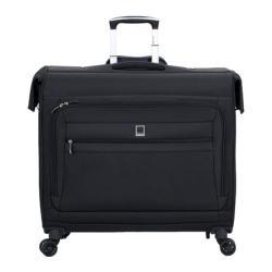 Delsey Helium Hyperlite Black Trolley Spinner Garment Bag