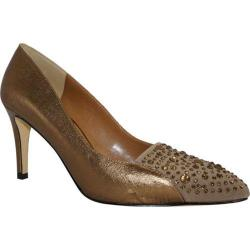 Women's J. Renee Salsy Bronze/Brown Leather
