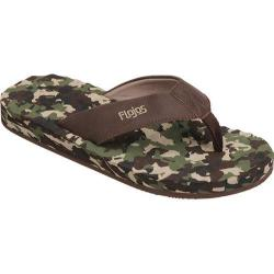 Men's Flojos Xander Camo Brown