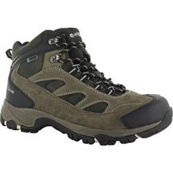 Men's Hi-Tec Logan Waterproof Smokey Brown/Olive/Snow