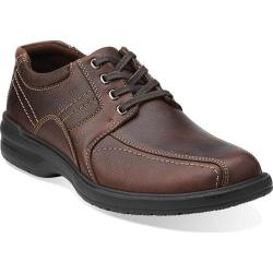 Men's Clarks Sherwin Limit Brown Tumbled Leather