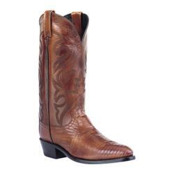 Men's Dan Post Boots Teju Lizard J Toe Antique Tan