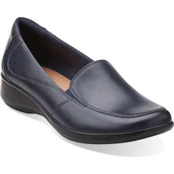 Womens Clarks Shoes - Carousel Ride Black Patent Leather Ballerina Work School Shoes