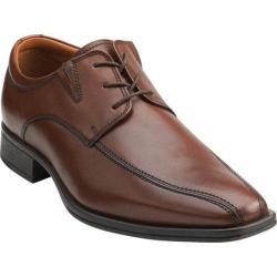 Men's Clarks Flenk Lace Brown Leather