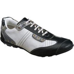 Men's Tansmith Evoke 8061 Black/White Full Grain Leather