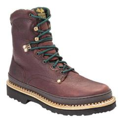 Men's Georgia Boot G83 8in Safety Toe Georgia Giant Soggy Brown Full Grain Leather