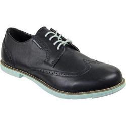 Men's TRUE Linkswear TRUE Gent Wingtip Black/Mint Leather