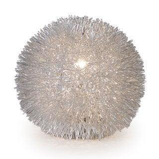 Luminary Silver Table Lamp