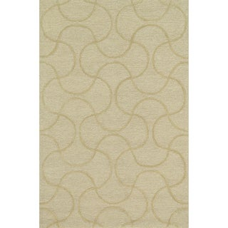 Hand Tufted Benson Cream Rug (7'6 x 9'6)