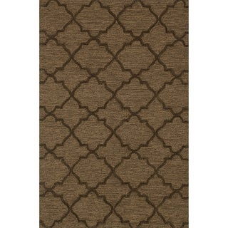 Hand Tufted Benson Brown Rug (7'6 x 9'6)