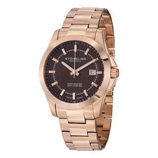 Stuhrling Original Men's Triton Swiss Quartz Bracelet Bracelet Watch